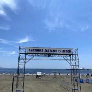 江ノ島はすでに夏が始まってました