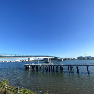 羽田空港から多摩川沿いを遡上