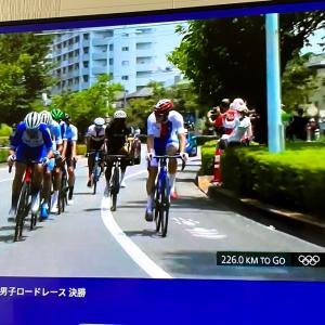 東京五輪 自転車男子ロードレースLIVE観戦