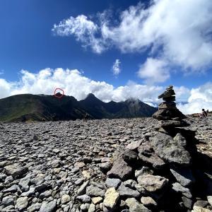 槍ヶ岳北鎌尾根で9月19日に発生した震度4の地震により岩壁崩落に遭遇した人の映像に背筋が凍る