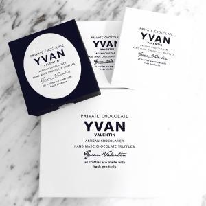 海外セレブ御用達チョコレート YVAN VALENTIN
