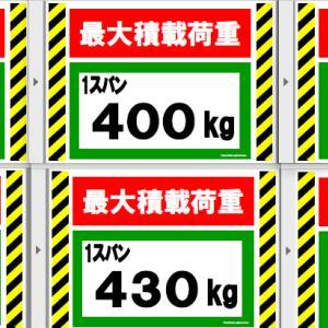 足場の最大積載荷重の掲示看板を無料でダウンロードできます