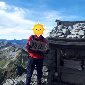 [剱岳]山ガールが早月尾根で日帰りソロ登山