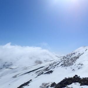 【雪山登山@平標山・仙ノ倉山③】松手山~仙ノ倉山。稜線歩き!?下って登って、下って登って、下って登って。