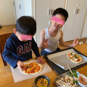 子どもとのランチにおすすめの手作りピザ♪
