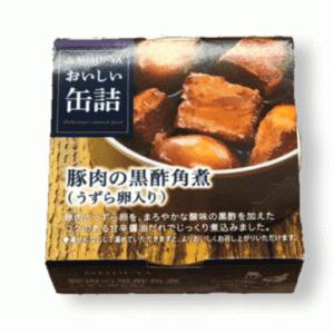 明治屋豚肉の黒酢角煮(うずら卵入り)