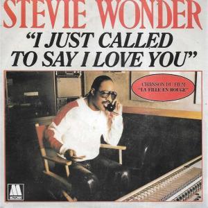 【和訳・解説まとめ】I Just Called to Say I Love You – Stevie Wonder