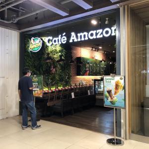 カフェー・アマゾンのココナッツメニュー(タイ最大のコヒーチェーン)