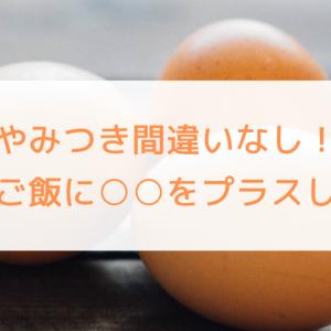 やみつき間違いなし!卵かけご飯に○○をプラスしてみた