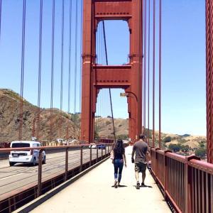 Vlog #4:世界で一番美しい橋!ゴールデンゲートブリッジを歩いてきた!