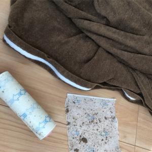 タオル地の布団カバーって繊維クズが困りもの!