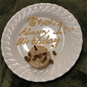 宙の1歳の誕生日です!