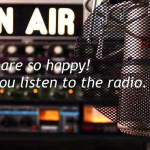 ラジオの収録に行ってきました!お時間ありましたら、毎週聞いてくださいね。