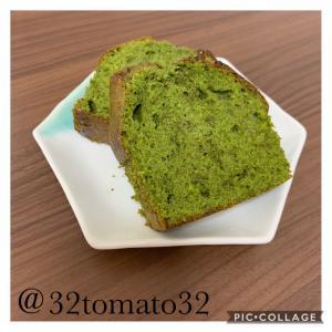 *抹茶パウンドケーキ*