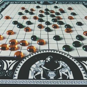 ボドゲ美術館レポ ✿ ペンテ / PENTE / 5個並べるか10個取られるか勝負だッ ✿