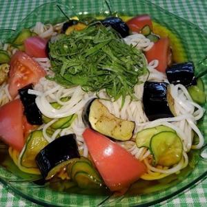サラダひやむぎ