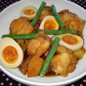 鶏手羽元の酢醤油煮