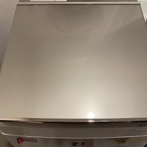 次世代エコポイントで入手したシャープの穴なし洗濯機!ヒルナンデスでも紹介!