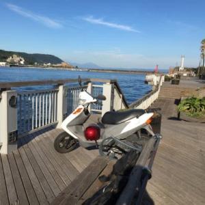 桜島桟橋、離島行きフェリー乗り場など散策