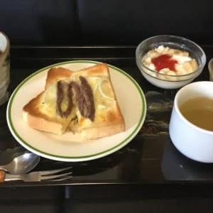 今日の朝食と一言
