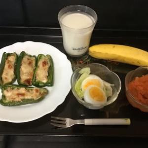 ダイエット朝食(糖質制限、減塩)