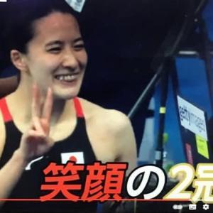 東京オリンピック日本選手大活躍