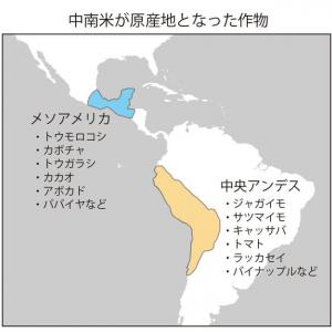 ヨーロッパ人到来以前の中南米の食(1)ーアメリカ大陸の新しい食