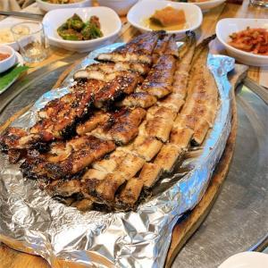 【京畿道・高陽】韓国でうなぎを食べる!幸州山城(ヘンジュサンソン)近くのマッチブ。