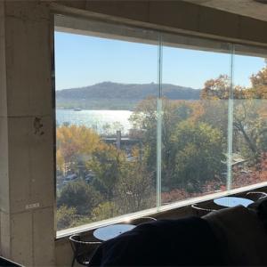 【京畿道・高陽】漢江を眺めるカフェで一休み。幸州山城のカフェTENNINE(텐나인)。