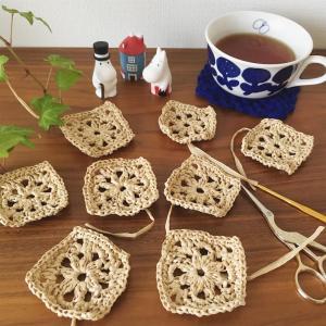 エコアンダリヤのモチーフ編み