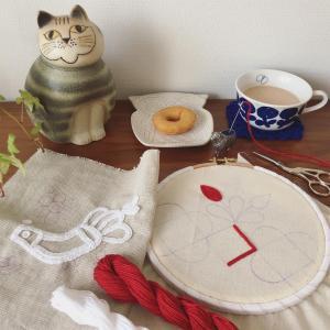 イーラーショシュとアウトライン刺繍のワークショップ