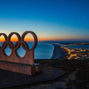 オリンピック賛成・反対の世論の変化はその時点の感染状況の推移と関係している