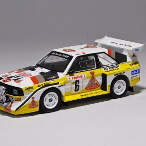 spark 1/43 AUDI SPORT QUATTRO S1E2 1986 MONTE CARLO