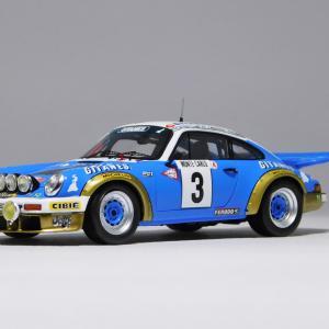 spark 1/43 Porsche 911 Carrera RS 2.7 1978 Rally Monte Carlo