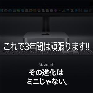 Apple Mac mini …3年間、お世話になります♫