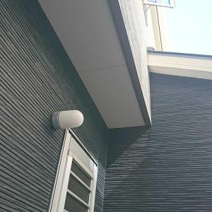 入居後に後付けした勝手口の屋根