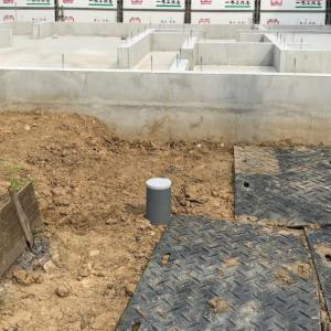 一条工務店で家を建てる(23):基礎コンクリート工事ほぼ完了です