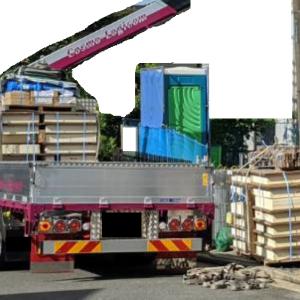 一条工務店で家を建てる(26):土台材搬入、土台/床敷設