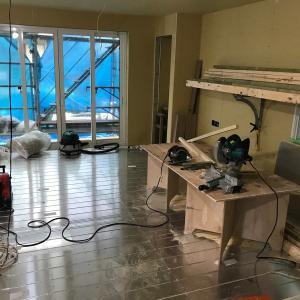 一条工務店で家を建てる(31):床暖房と太陽光パネル施工【アイキューブ】