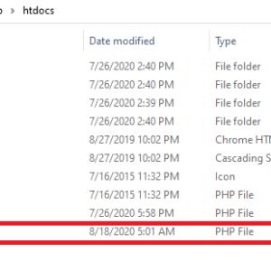 Xamppで導入したMySQLをPHPを使って操作してみた。