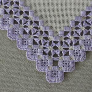 ハーダンガー刺繍 復習 * クローバーリーフダーン