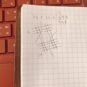 初耳な日本式かけ算