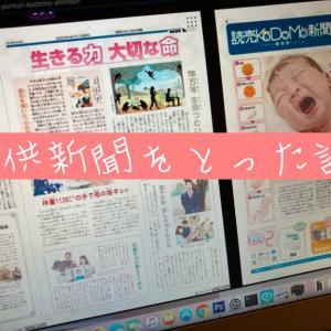 こども新聞3社比較!【毎日・読売・朝日!】