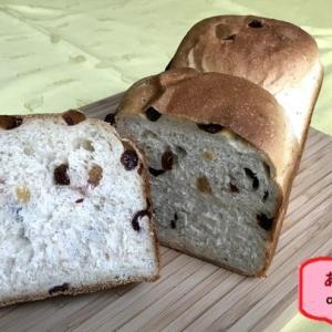 パン材料あれこれ -レーズン食パン-
