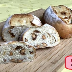 腹黒がバレる?滅相もないです!胃カメラの前夜 #アーモンドとイチジクのパン#