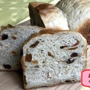 意思の弱いミニマリスト ~アーモンドとドライフルーツ食パン~