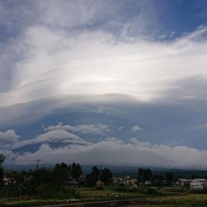 自然の芸術~つるし雲