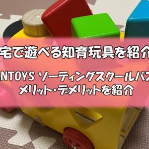 自宅で遊べる知育玩具ソーティングスクールバスのメリットデメリット