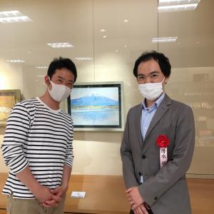 【日本画家】清水航さんの富士山 瞬間の美しさと日々の大切さを伝える素晴らしい画家さんです
