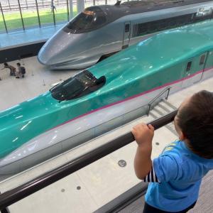 鉄道博物館で「はやぶさ」「こまち」を見てきました!
